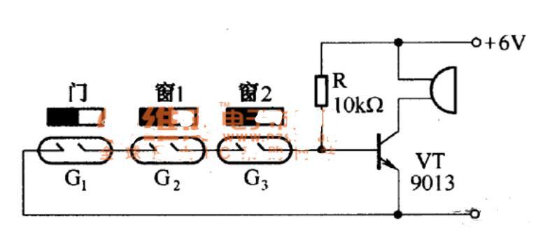 干簧管安裝_干簧管的應用電路