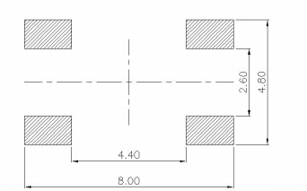 TS-1187B-X輕觸開關的規格原理圖免費下載