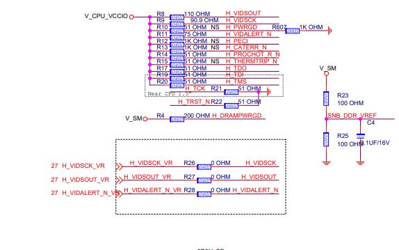 H61M-S26 V6 MS-7774主板的電路原理圖免費下載