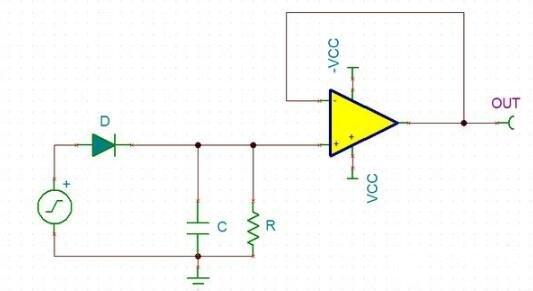 峰值检波改进电路图_综合峰值检波电路图
