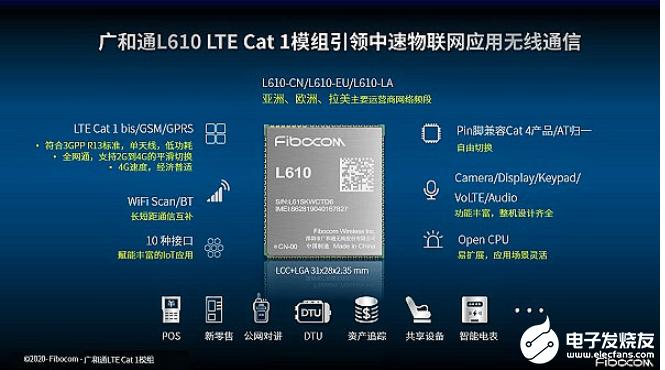 广和通宣布L610 LTE Cat 1模组具备国内唯一量产出货资质