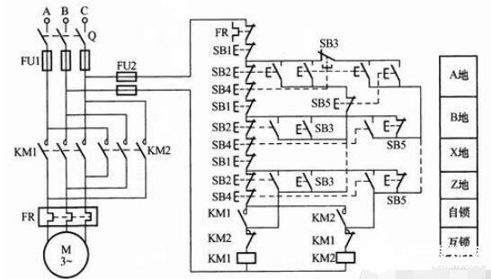 點動控制電路接線圖