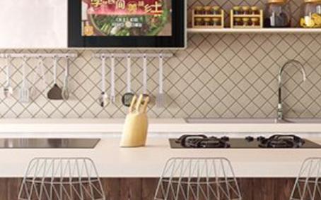 镜面电视是什么,为什么智能厨房都爱用它?