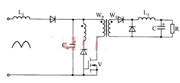 BIFORED轉換器主電路_有反饋的BIFORED轉換器主電路