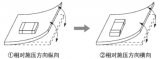 電路板翹曲或彎曲施加壓力的零件安裝方法