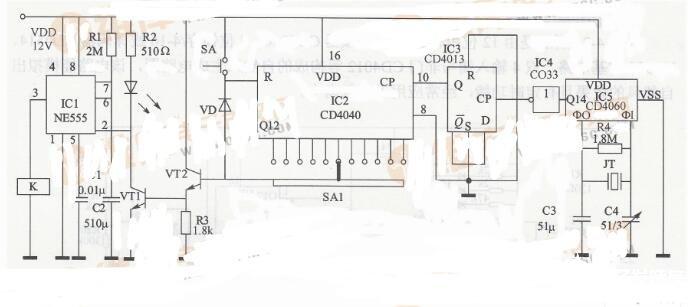 秒定时控制电路图_30秒定时器电路图