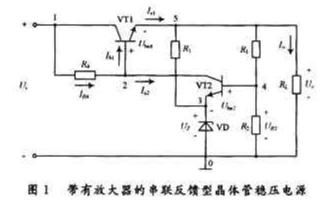 串聯反饋型晶體管穩壓電路的性能指標及如何對數學模型進行求解