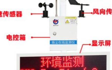 工地专用扬尘监测设备