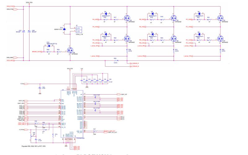 三相無刷直流永磁同步電動機低壓功率級用戶指南