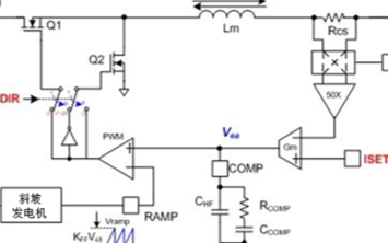通过双向转换器控制方案,来简化实际电路运用