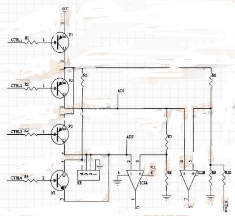 三款加热采样电路图解析