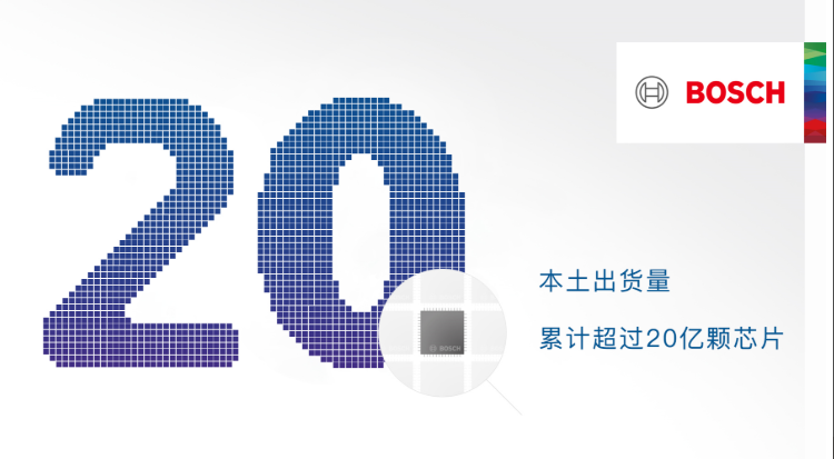 Bosch Sensortec中國本土傳感器出貨量累積超過20億顆