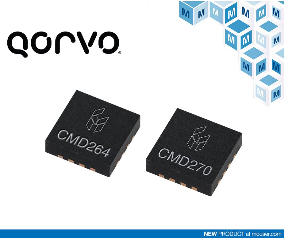 贸泽即日起供应Qorvo的Custom MMIC全线产品