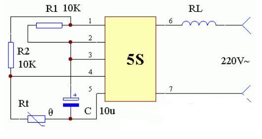 三款恆溫控制器電路圖詳解