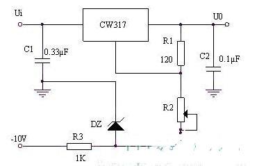 两款三端可》调稳压器电路图解析