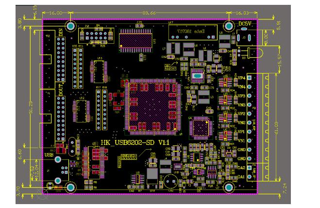 数据采集卡HK_USB6202-SD的使用手册免费下载