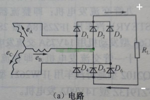汽車發電機整流電路原理