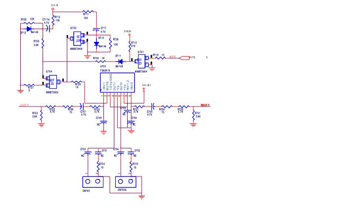 創維42L17SW液晶電視8TTN機芯的電路原理圖免費下載