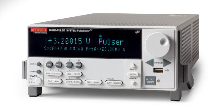 泰克在全新2601B-PULSE 多合一源表中首次采用消除脈沖調諧技術