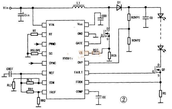 液晶屏背光LED驱动电路图