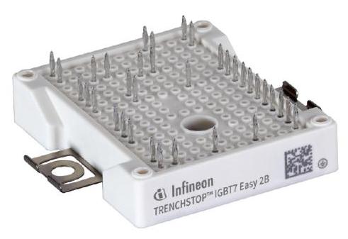 功率擴展:TRENCHSTOP? IGBT7 Easy產品系列推出新的電流額定值模塊