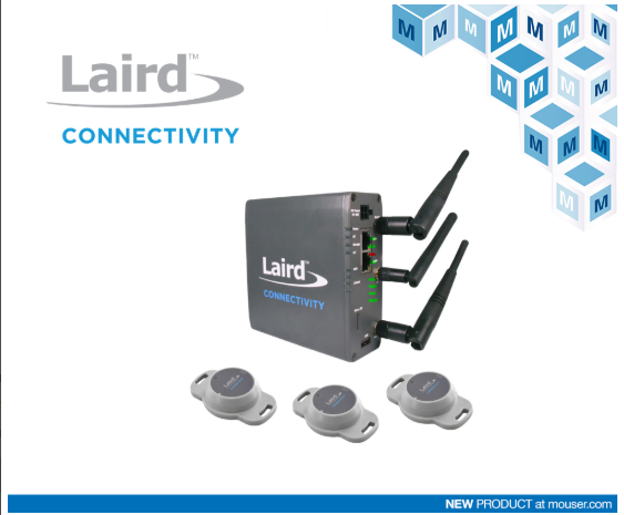 Mouser Electronics stocks Laird Connectivity Sentrius IG60-BL654 Starter Kit