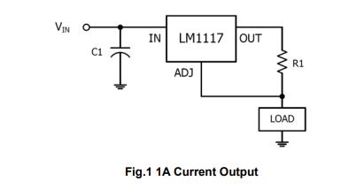 LM1117低功耗正电压调节器的数据手册免费下载