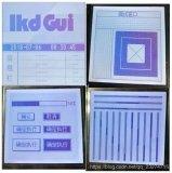 lkdGui是一款为单色显示屏制作的图形化界面专为工业控制领域而生