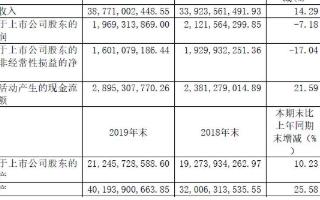 2019年中天科技營收同比增長14.29%,2020年國內國際市場多點開花