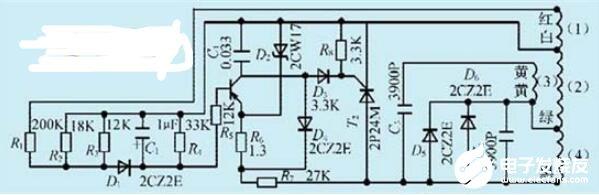 簡單的單相汽油發電機控制電路