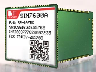 芯讯通模块SIM7600A获Rogers认证,实...