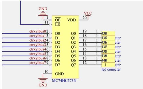 由LED组成的光立方3D显示器设计资料说明