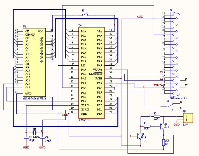 RTL8139如何改制AT89C51編程器