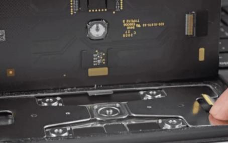 iPad Pro妙控键盘触控板拆解,全新物理点按式设计