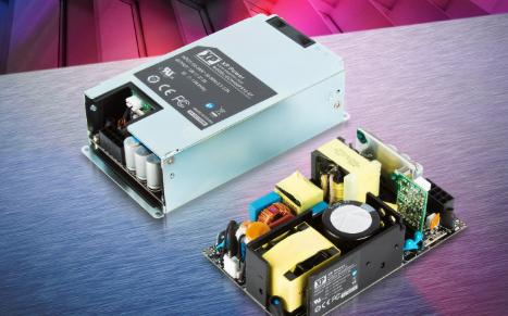 XP Power正式宣布推出新款超緊湊,高效率的裸板型或封閉型ECH450系列電源