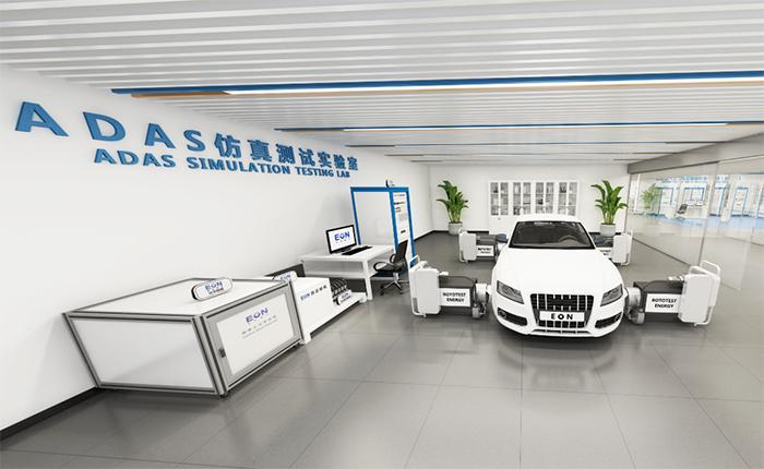 新能源汽车ADAS整车在环虚拟仿真测试