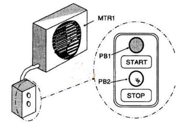 自锁PLC梯形图电路