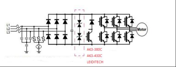變頻驅動器VFD/ IGBT逆變器的過壓保護6KV