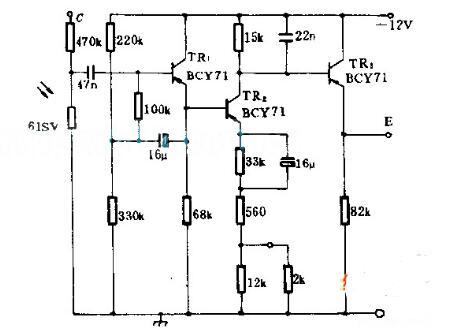 溫度計輻射電路圖