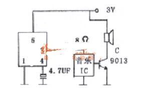 ND-1直接驱动电路图_ND-1的应用电路图