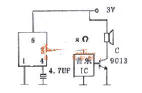 ND-1直接驅動電路圖_ND-1的應用電路圖