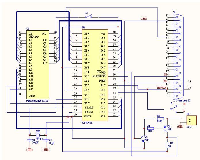 RTL8139改制AT89C51編程器的方法