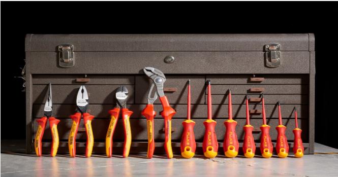 福禄克跨界手动工具领域,推出第一款绝缘工具