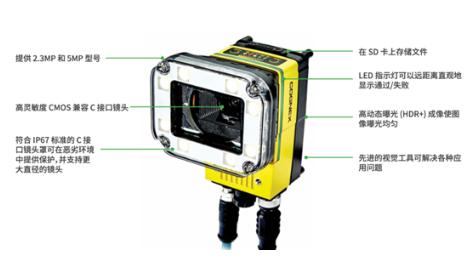 康耐视推出In-Sight D900嵌入式视觉系统,解决线上检测应用问题