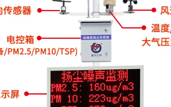 噪声扬尘在线监控系统RS-ZSYC3-*