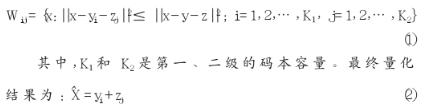 基于多級矢量量化實現優化LSF參數碼本的設計