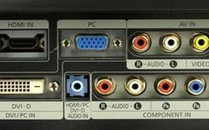 lcd顯示器接口類型