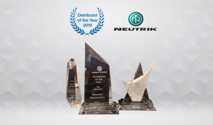 贸泽电子连续第三年荣获Neutrik年度分销商大奖