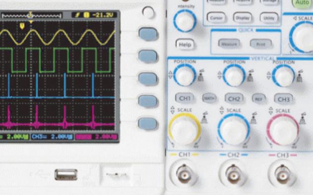 MSO8000系列數字示波器為您提供2 GHz模擬帶寬和10 GSa/s采樣率