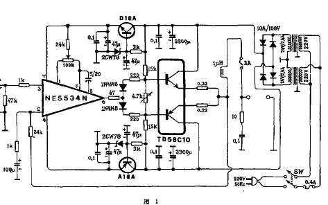 如何使用NE5534运放芯片制作功率放大器
